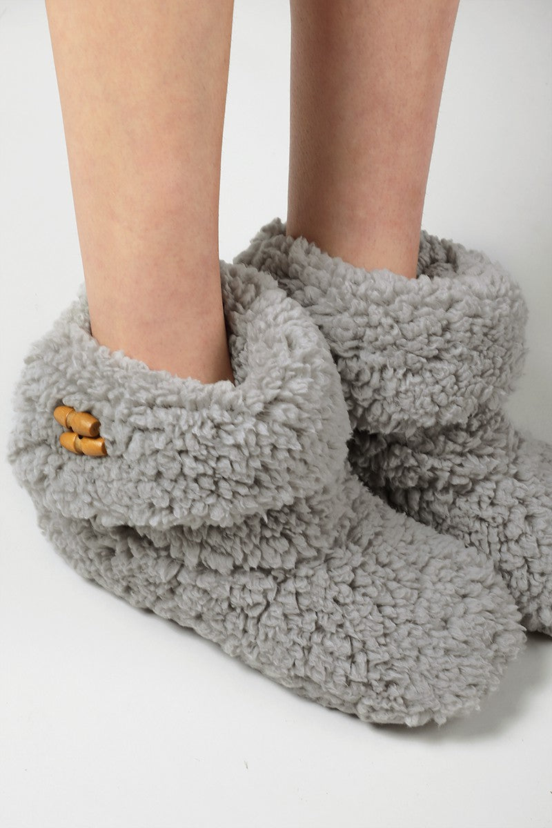 Cozy Grey Slippers