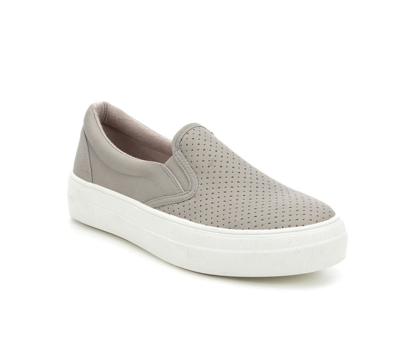 Croft-Grey Slip On Sneaks
