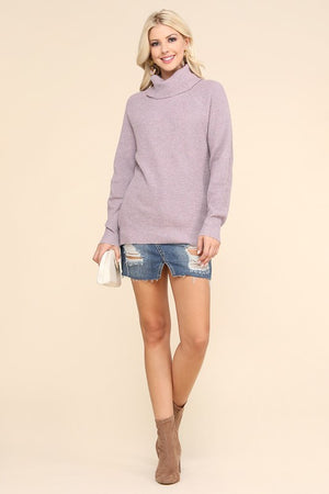 Lavender Turtleneck