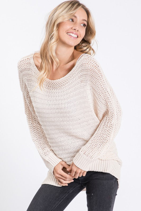Jordyn Off-The-Shoulder Sweater