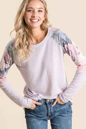 Lavender Vibes Top