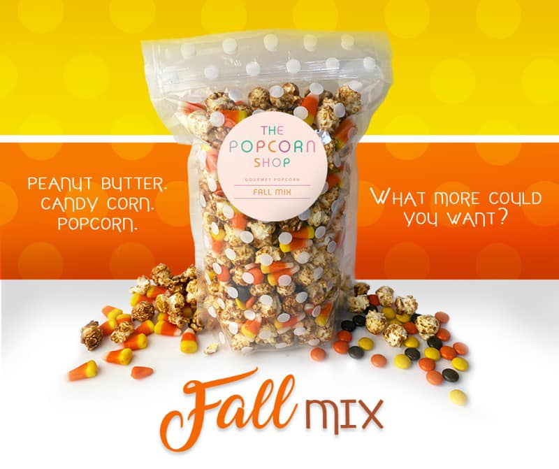 Fall Mix Gourmet Popcorn