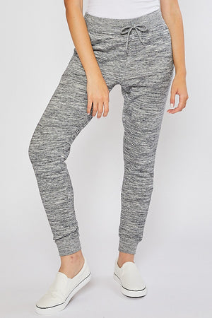 *BFDB* MARBLED GREY- OVERSIZED RELAXED FIT JOGGER