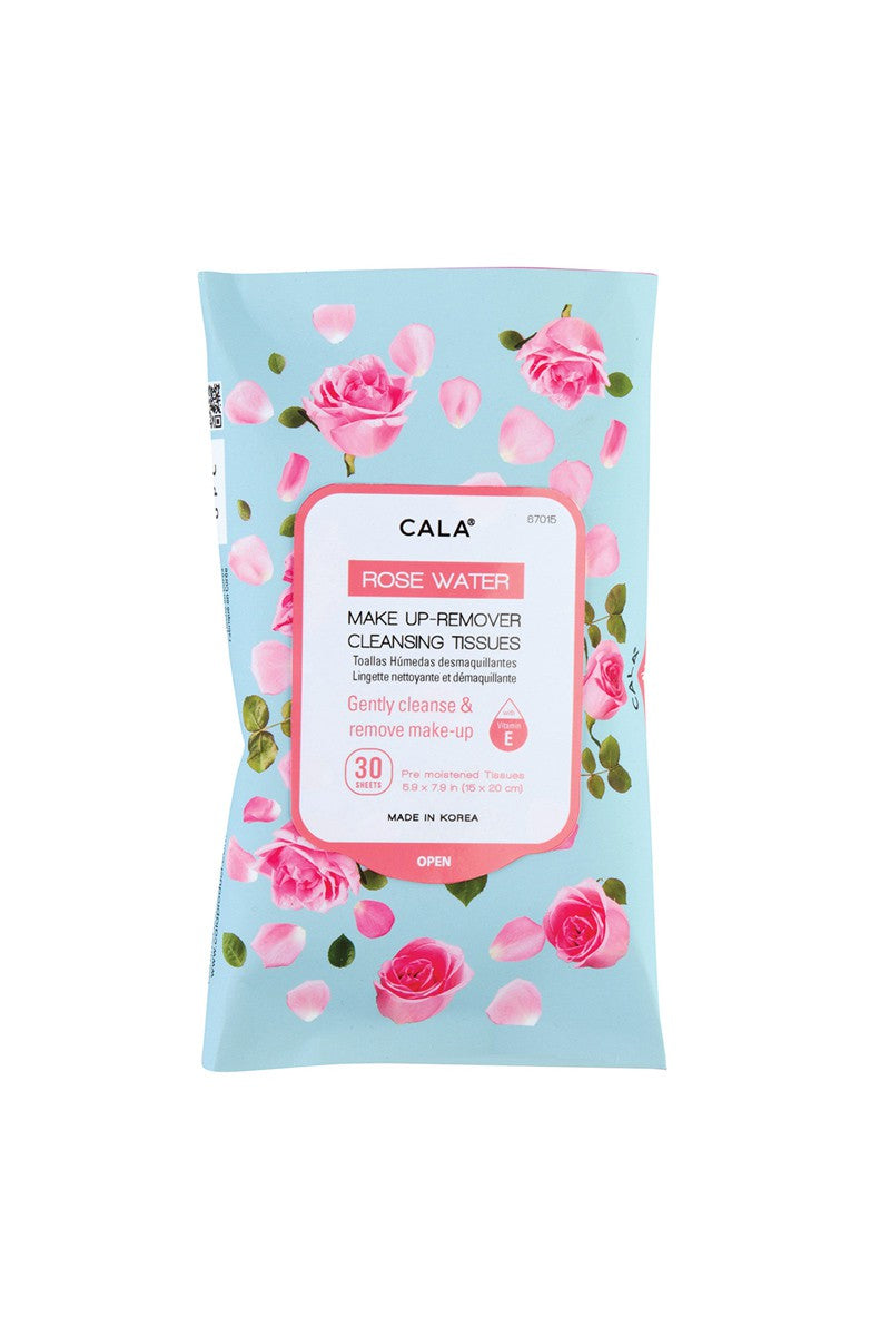 Rose Water Make-up Remover Cleansing Tissues