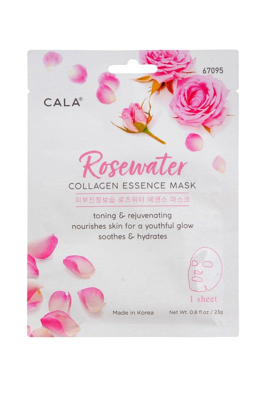 Rosewater Facial Mask