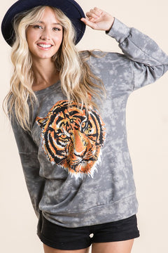 Cool Cats + Kittens Long Sleeve Top