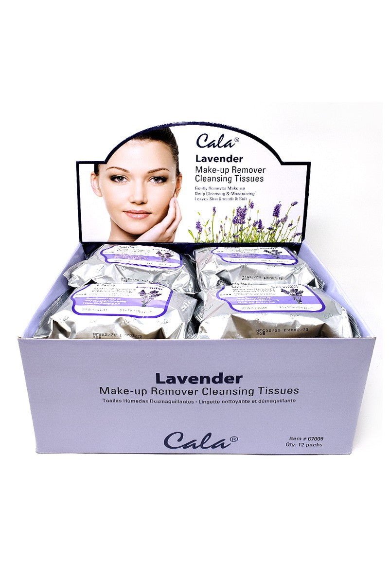 Lavender Make-up Remover Cleansing Tissues