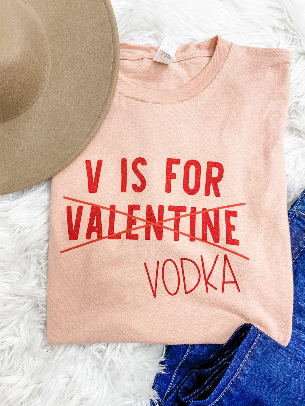 V is for Vodka Graphic Tee