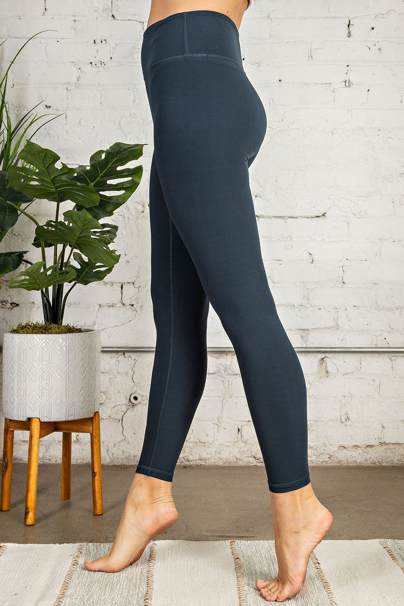Nocturnal Navy Buttery Soft Leggings
