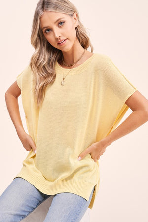 Brunello Sweater- Lemon