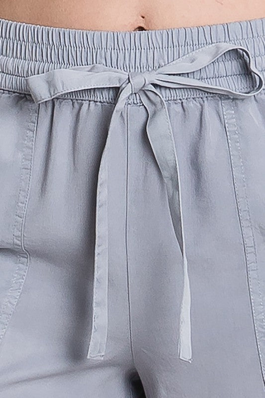 Favorite Pewter Drawstring Shorts