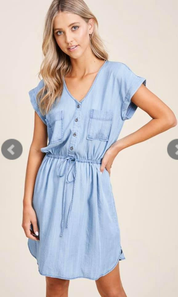 Cutest Denim Dress