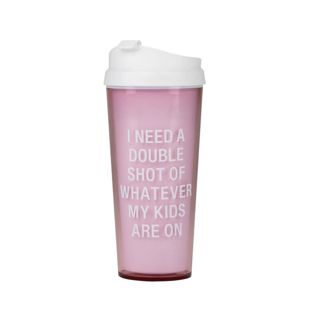 Double Shot Travel Mug