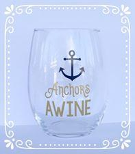 Anchors Awine Wine Glass