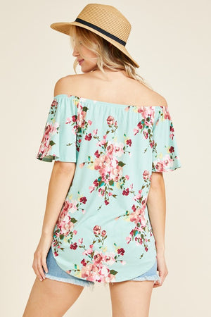 Shonda - Floral Off Shoulder Top