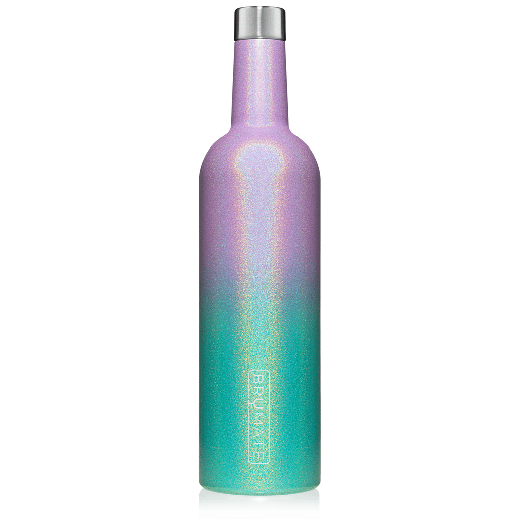 WINESULATOR™ 25OZ WINE CANTEEN | Glitter Mermaid