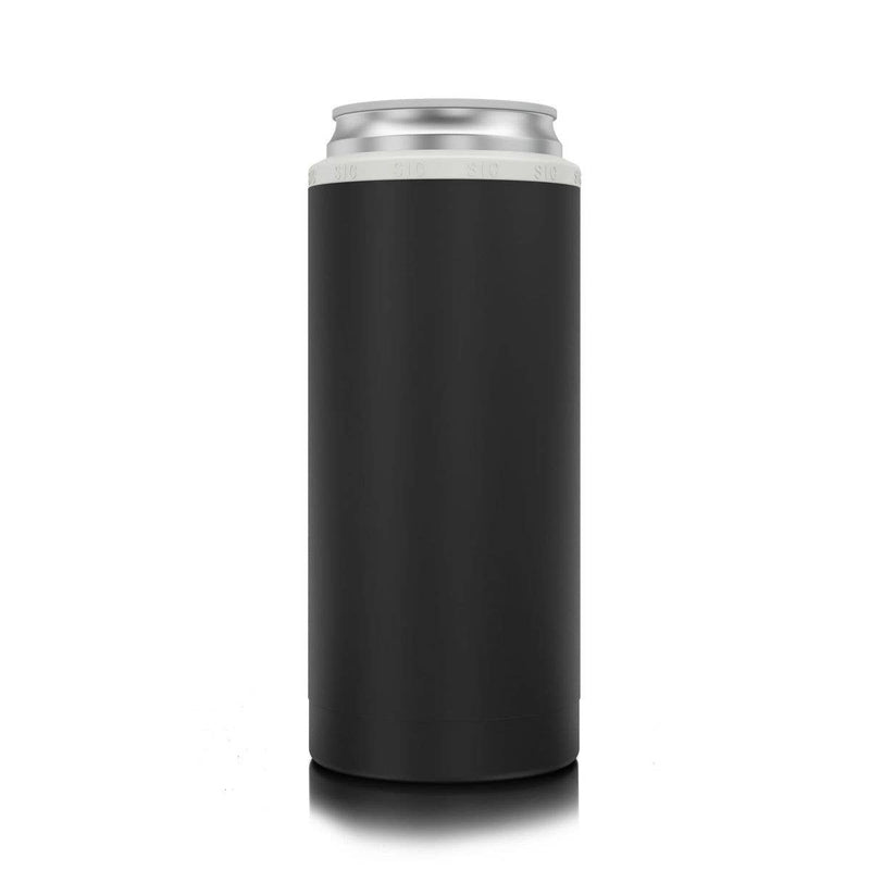 Slim Can Cooler Matte Black