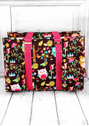 Give A Hoot Large Organizer Tote
