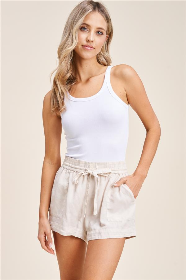 Favorite Linen Drawstring Shorts