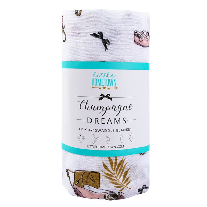 Champagne Dreams Swaddle