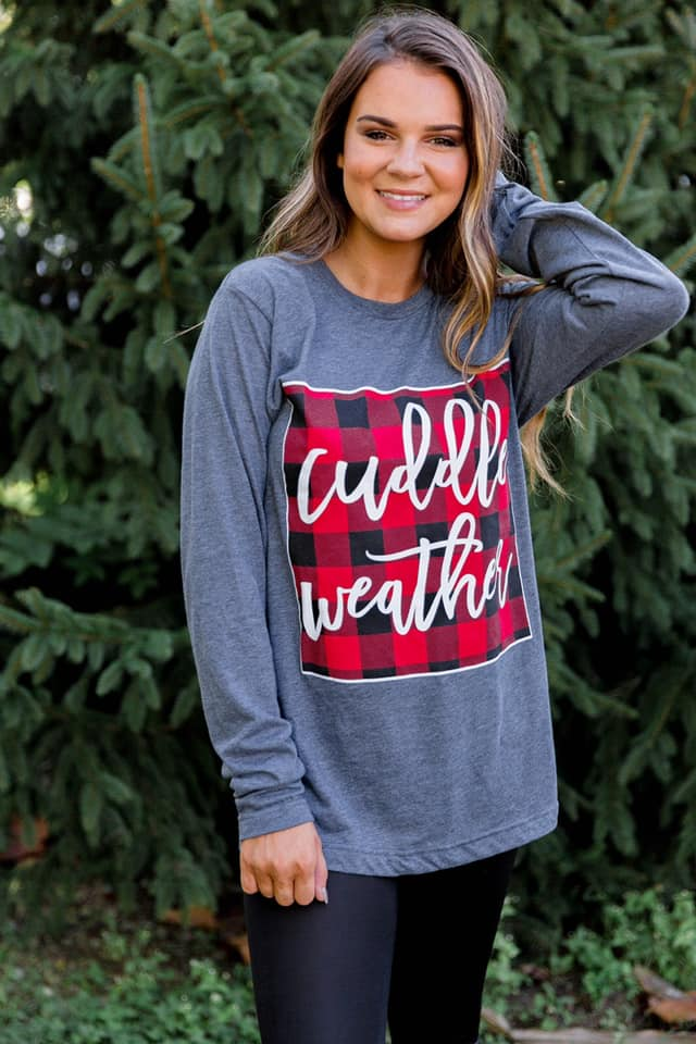 Cuddle Weather Long Sleeve Tee