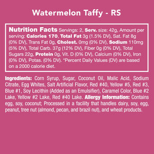 Candy Club - Watermelon Taffy