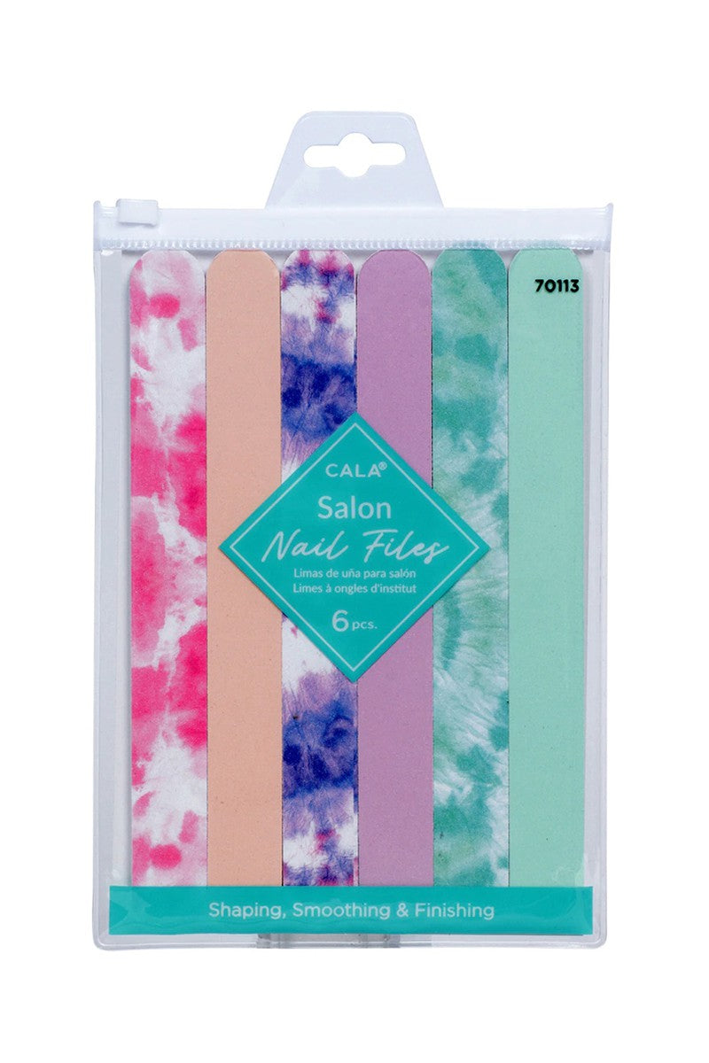Tie Dye 6 pc. Nail File Set