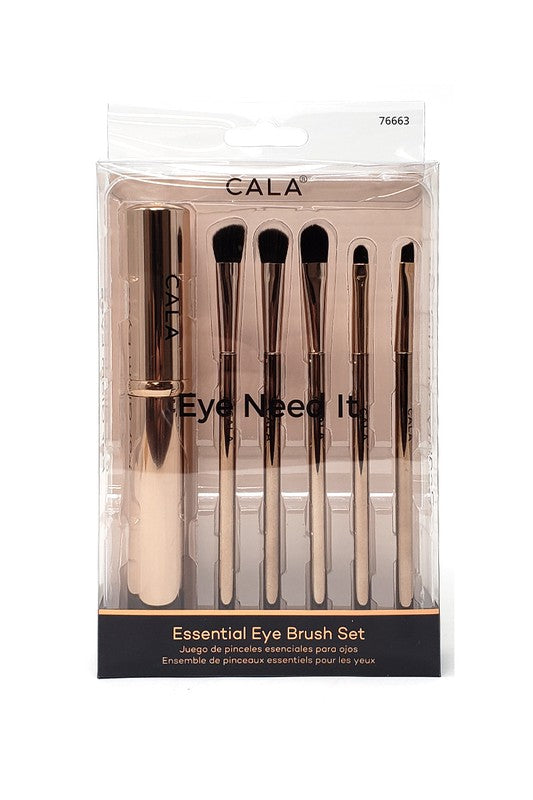 Rose Gold Eye Need It- Essential Eye Brush Kit