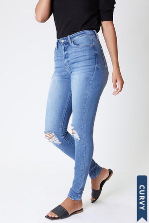 KanCan Curvy Super Soft Denim Jeans