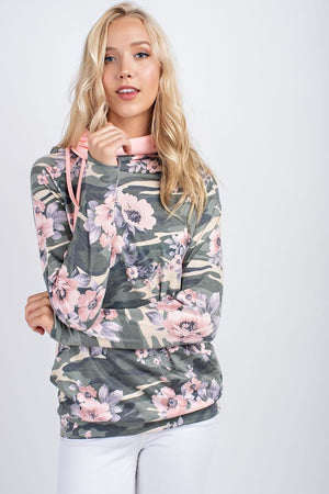 Floral Camo Hoodie