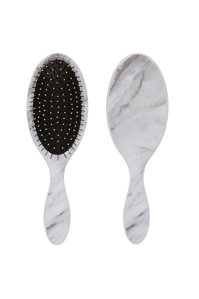 White Marble Wet-N-Dry Detangling Brush