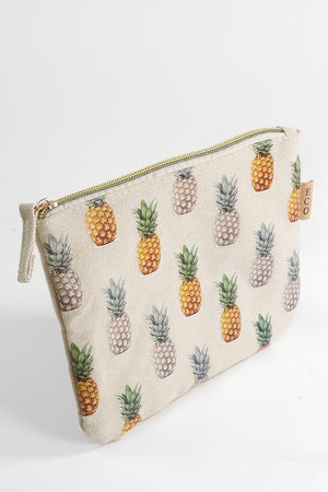 Pineapple Zippered Pouch