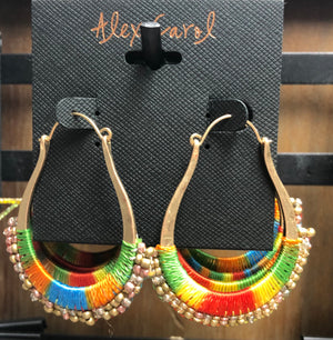Alex Carol Rainbow Hook Earrings