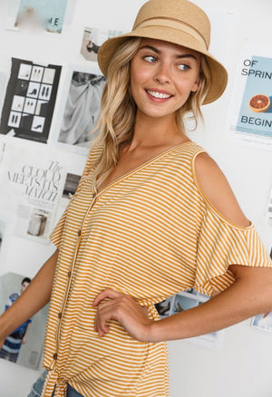 River - Cold Shoulder Top