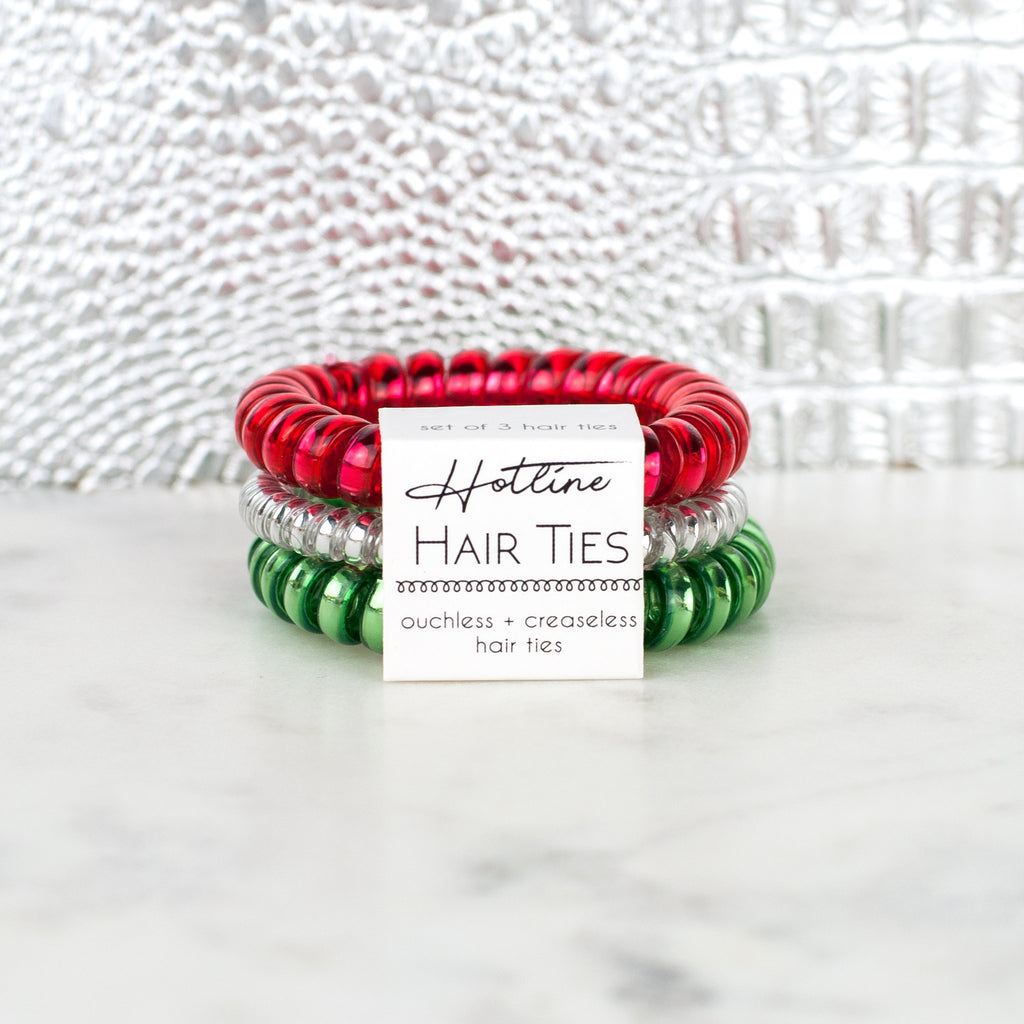 Merry & Bright Hotline Hair Ties