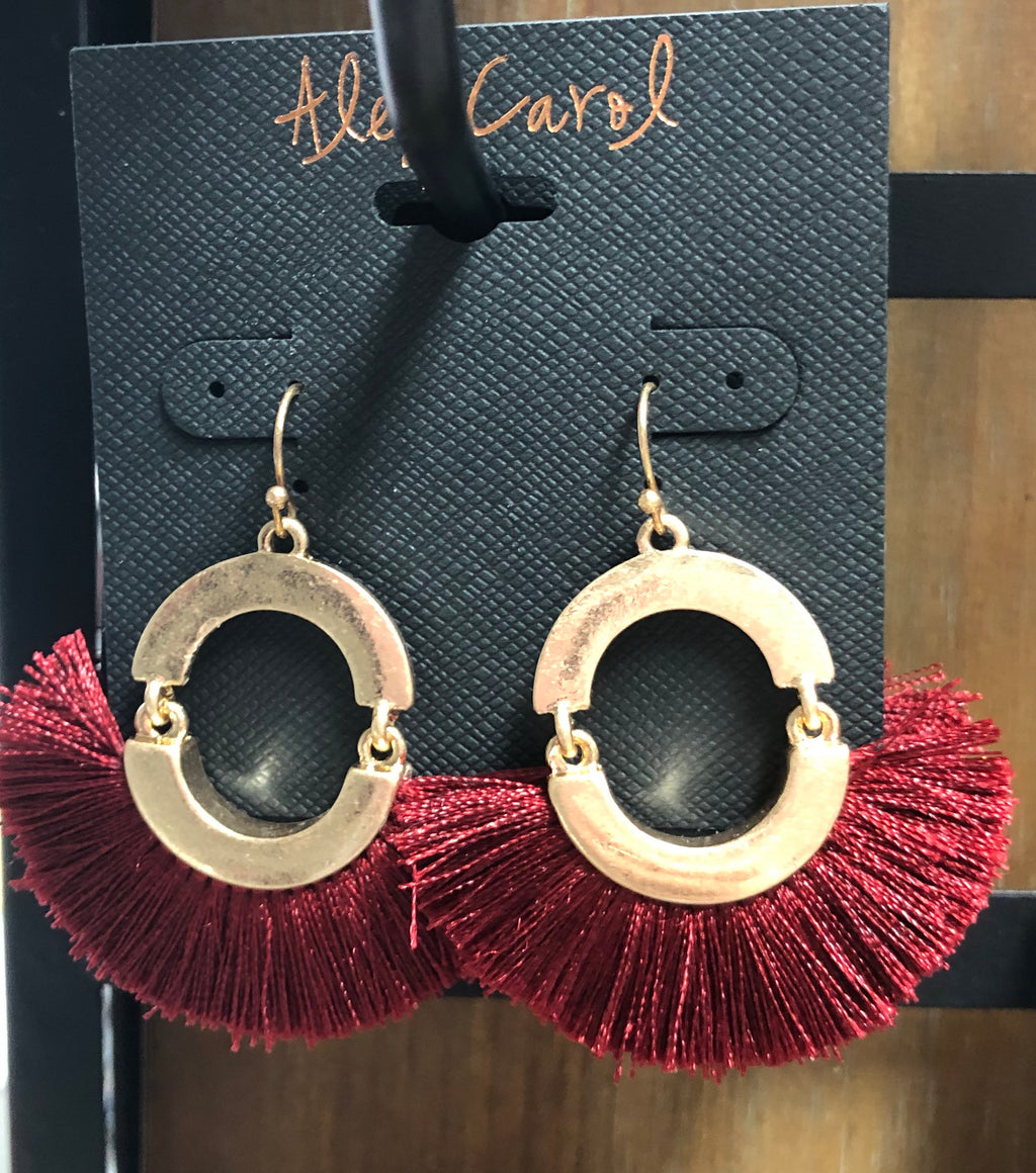 Alex Carol Fan Earrings