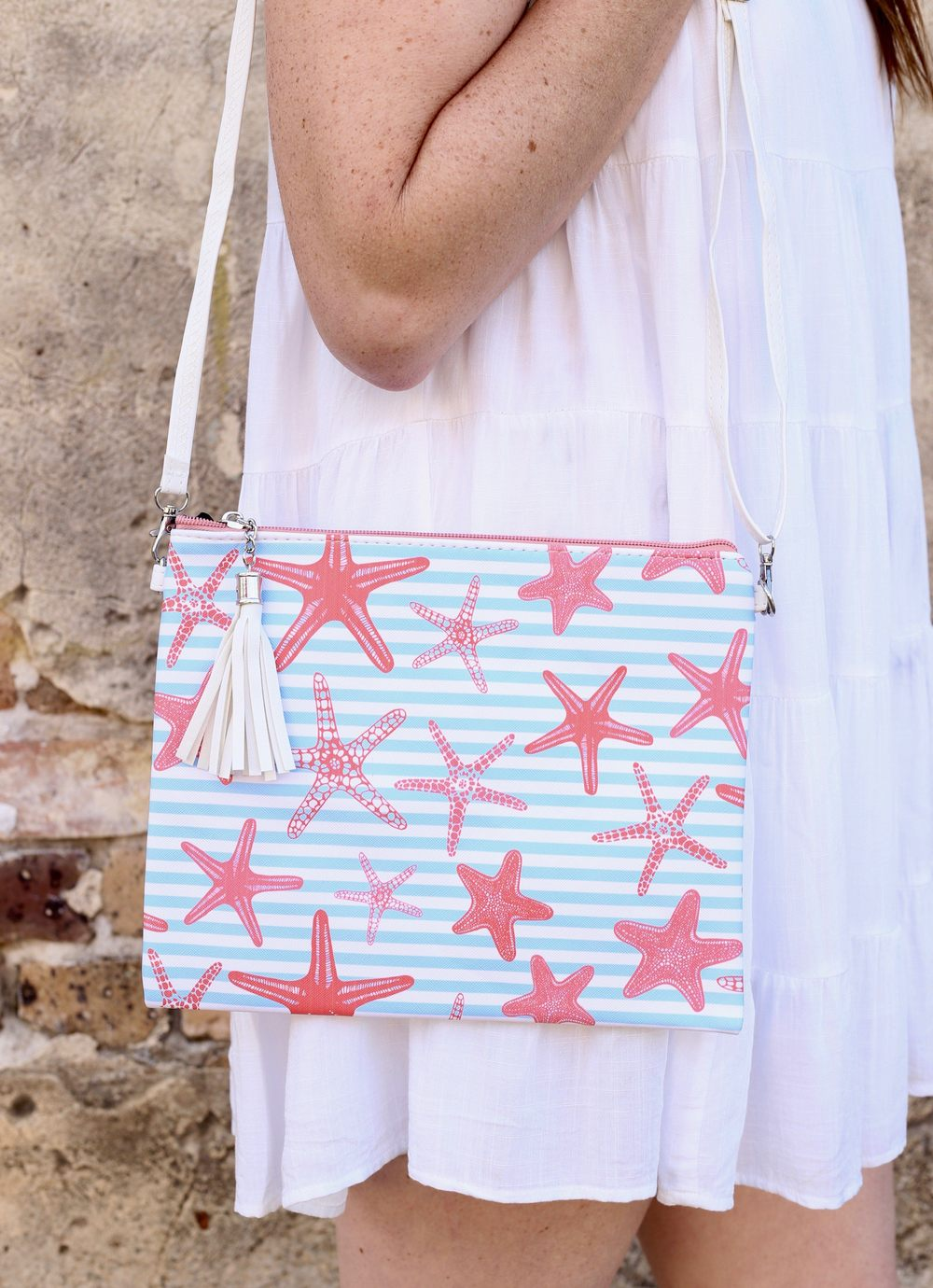 Seachaser Crossbody/Clutch Starfish