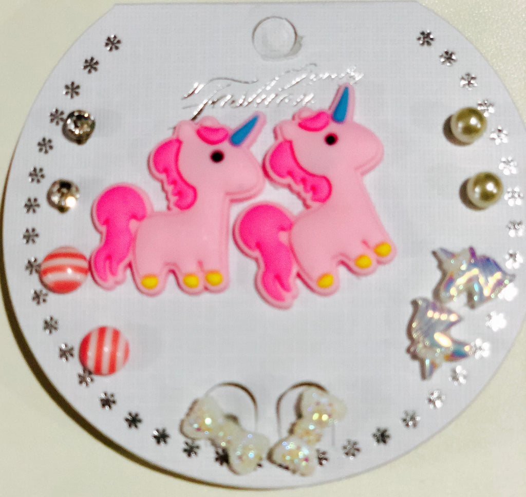 Unicorn Earring Set