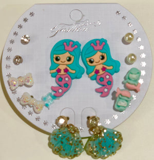 Mermaid Earring Set