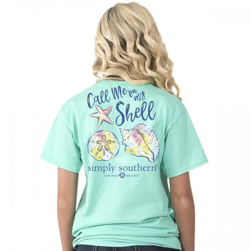 Call Me On My Shell SS Tee