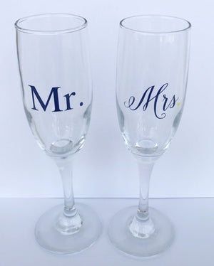 Mr. & Mrs. Champagne Set