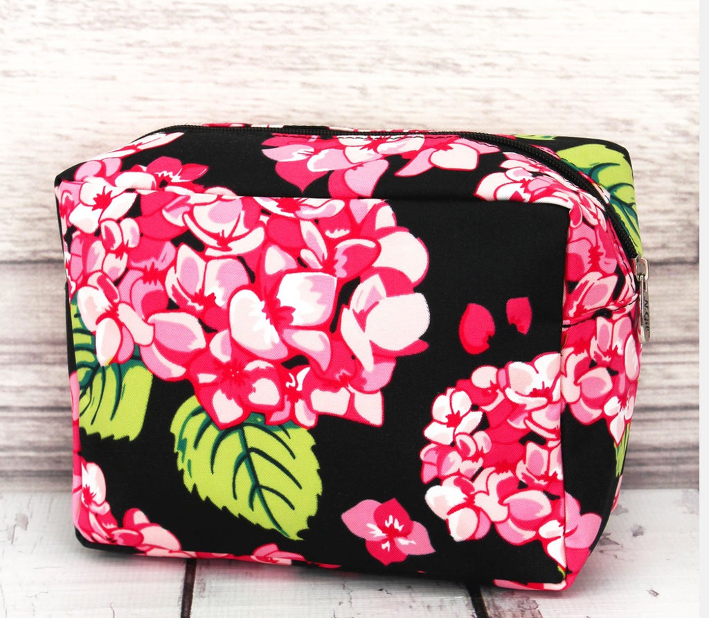 Hydrangea Bloom Cosmetic Bag
