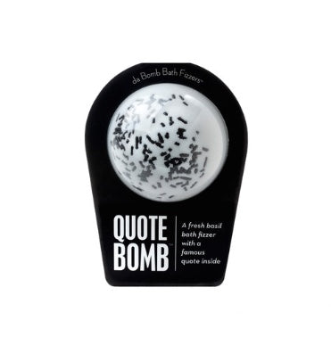 Da Bomb Bath Fizzer- Quote Bomb