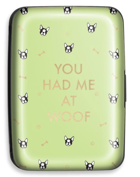 Woof Woof Credit Card Case