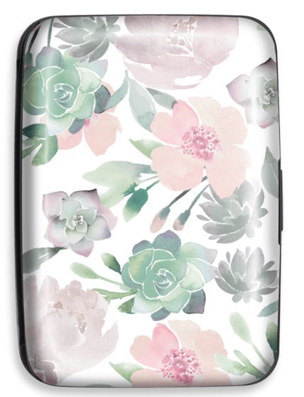 Floral Credit Card Case