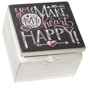 You Make My Heart Happy Storage Box