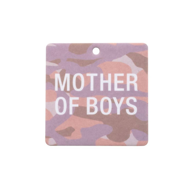 Mother of Boys Camo Air Freshener