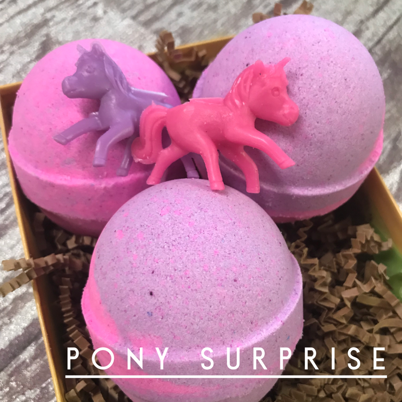 JJB Pony Toy Surprise Bath Bomb
