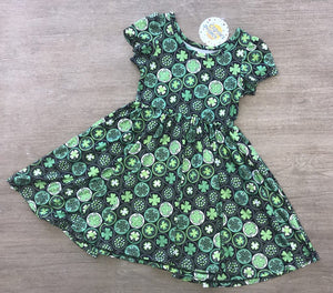 Shamrock Medallion Dress