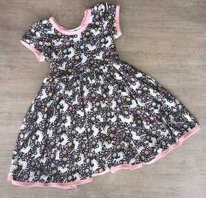 Spring Unicorn Dress